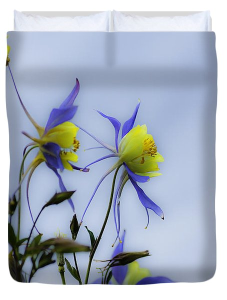 Columbines Duvet Cover