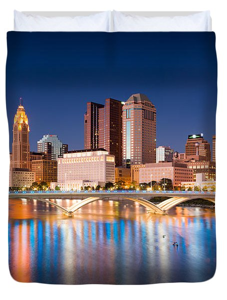 Columbus Ohio Duvet Cover