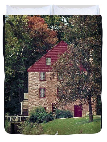 Colvin Run Mill Duvet Cover