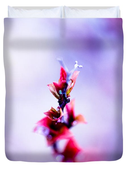 Comatose Duvet Cover by Shane Holsclaw