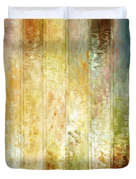 Come A Little Closer - Abstract Art Duvet Cover by Jaison Cianelli
