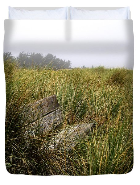 Come Sit And Stay Duvet Cover