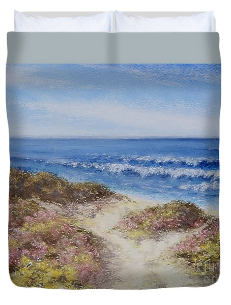 Come With Me Duvet Cover by Stanza Widen