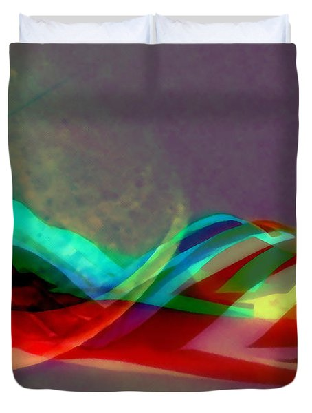 Comet Trail Duvet Cover