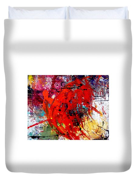 Coming And Goings Duvet Cover