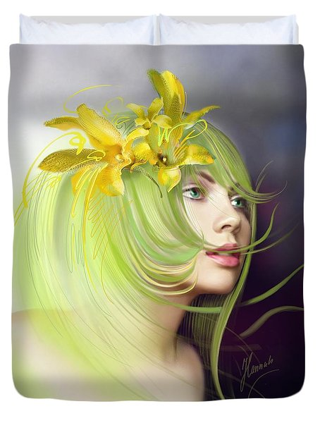 Coming Of Spring Duvet Cover