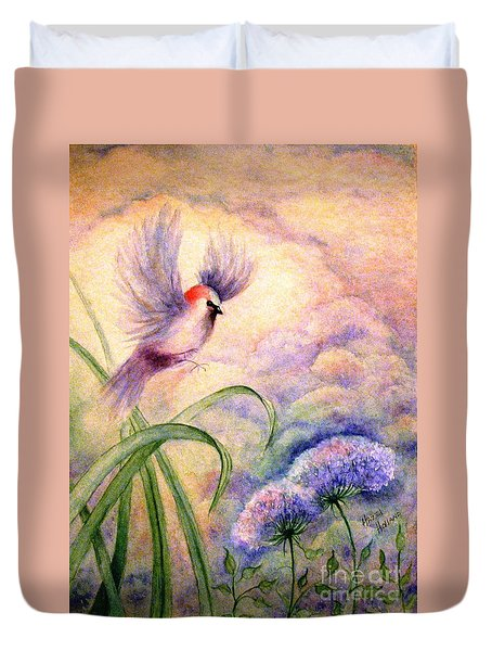 Coming To Rest Duvet Cover