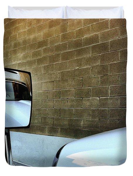 Commercial Truck Duvet Cover