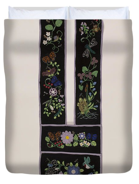 Community Bandolier Bag 2013 Duvet Cover