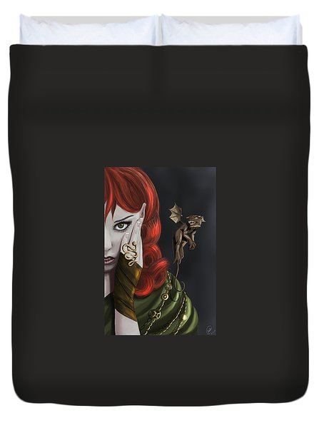 Companions Duvet Cover by Kate Black