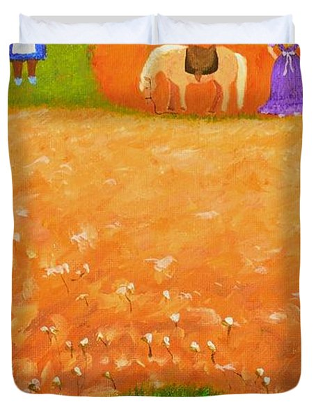 Company Come To Call Duvet Cover by Nina Stephens