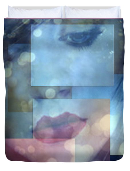 Duvet Cover featuring the photograph Compartmentalised by Irma BACKELANT GALLERIES