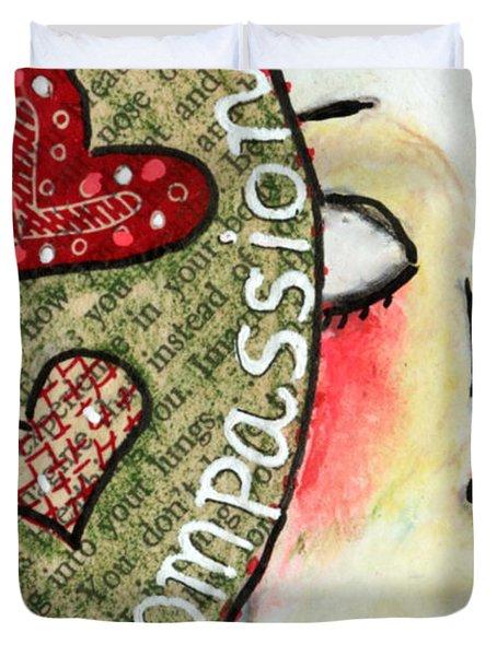 Compassion Duvet Cover
