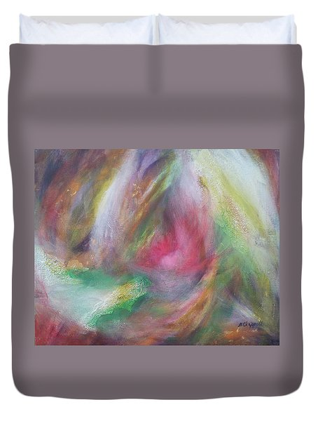 Compassion Duvet Cover by Becky Chappell