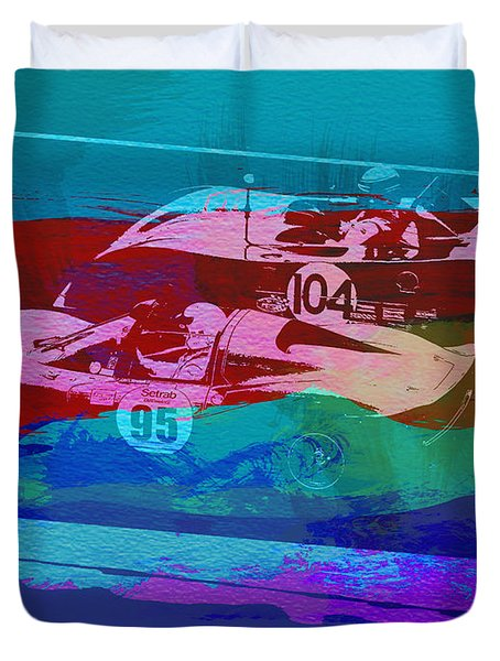 Competition Duvet Cover by Naxart Studio