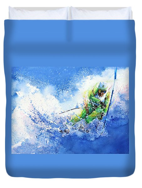 Competitive Edge Duvet Cover by Hanne Lore Koehler