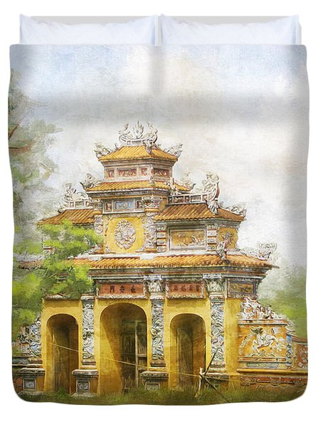 Complex Of Hue Monuments Duvet Cover