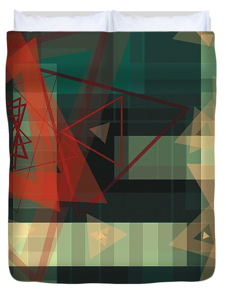 Composition 36 Duvet Cover by Terry Reynoldson