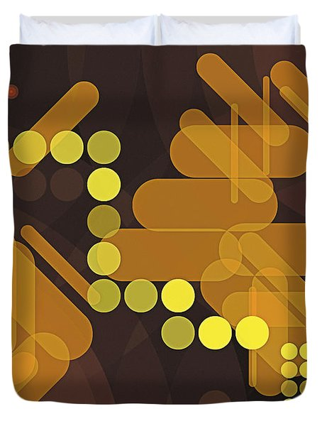 Composition 38 Duvet Cover by Terry Reynoldson