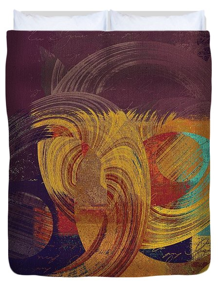 Composix - 164164100a2t1 Duvet Cover by Variance Collections
