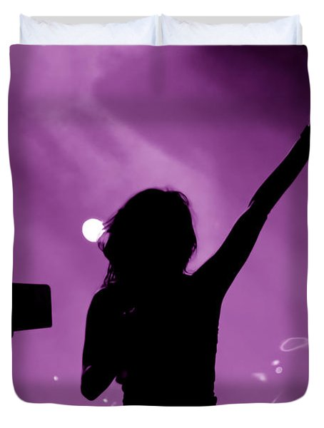 Concert Duvet Cover by Michal Bednarek