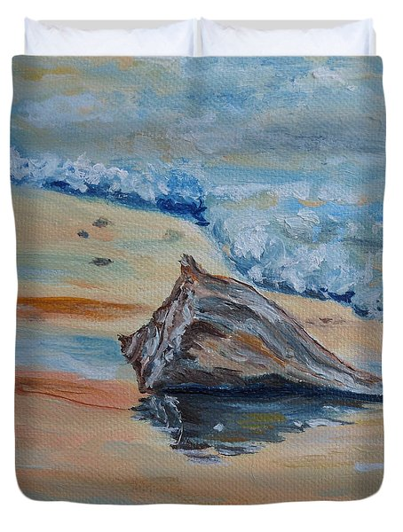 Conched Out Duvet Cover