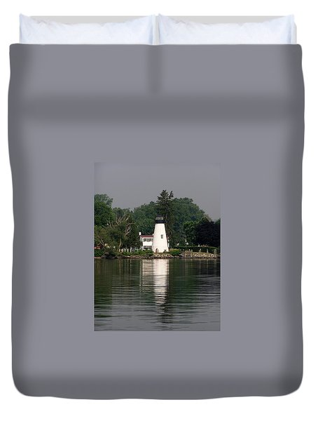 Concord Point Lighthouse Duvet Cover