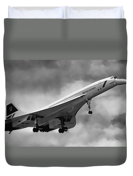 Concorde Supersonic Transport S S T Duvet Cover