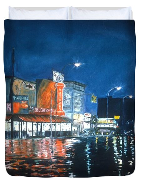 Coney Island Duvet Cover by Anthony Butera