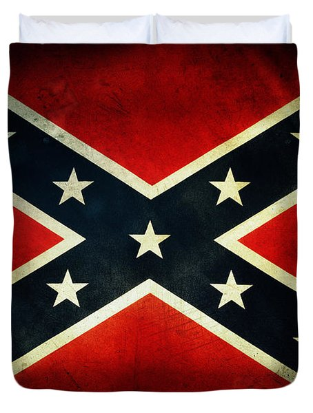 Confederate Flag Duvet Cover