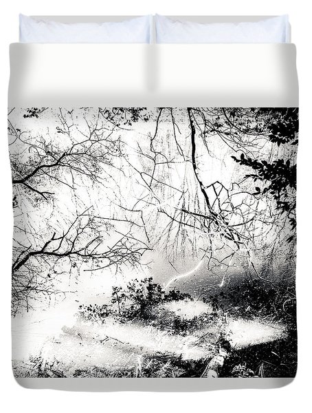 Confusion Of The Senses Duvet Cover