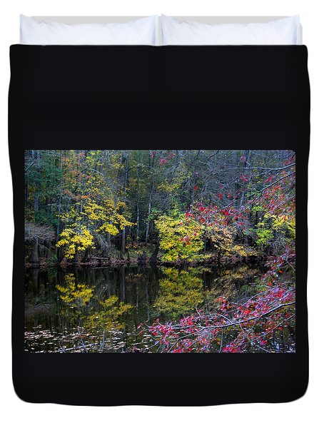 Congaree Swamp Duvet Cover by Skip Willits
