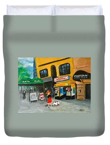Connecticut Avenue Dc Duvet Cover