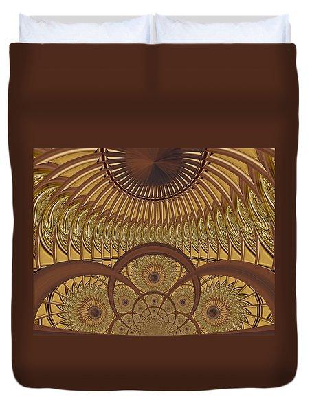 Conservatory - Caramelized Duvet Cover