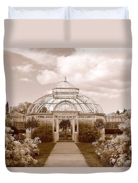 Conservatory- Sepia Duvet Cover