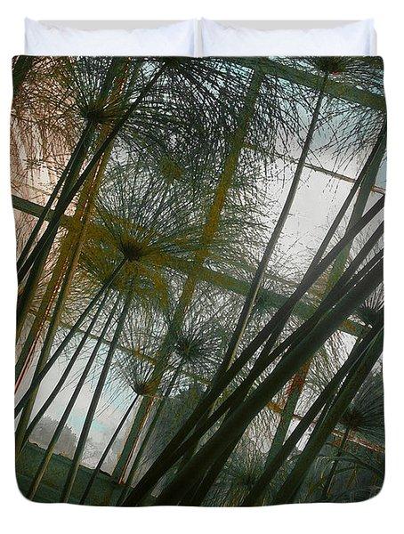 Conservatorybwindow Duvet Cover