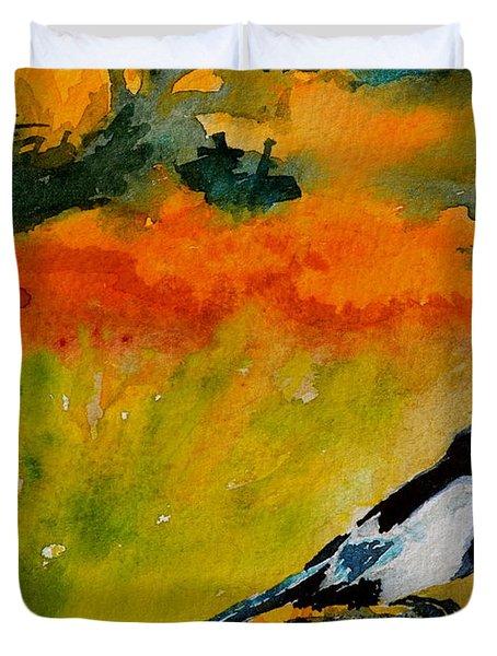 Consider Duvet Cover by Beverley Harper Tinsley