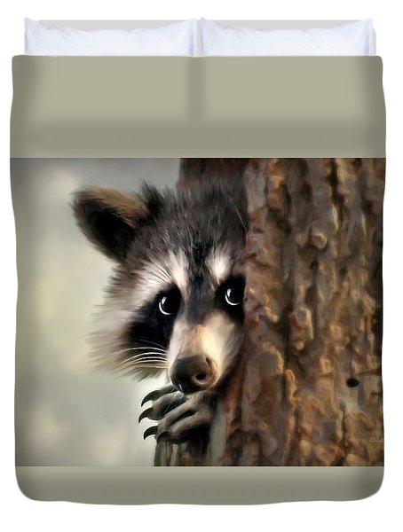 Conspicuous Bandit Duvet Cover