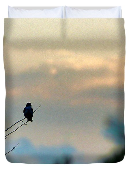 Duvet Cover featuring the photograph Contemplation by Bruce Patrick Smith