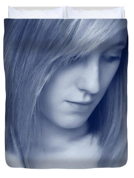 Contemplative Duvet Cover by Amanda Elwell