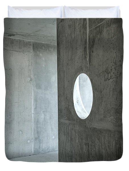 Contemporary Architecture Detail Duvet Cover
