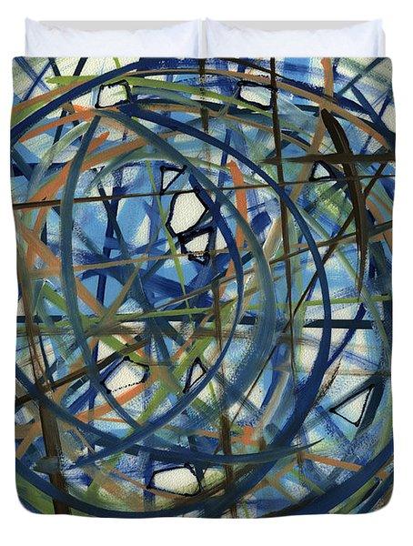 Contemporary Art Seventeen Duvet Cover