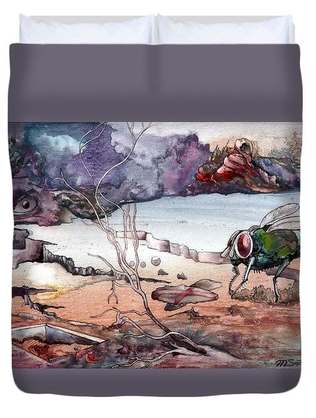 Contest Duvet Cover