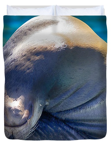 Contortionist Duvet Cover by Douglas Barnard