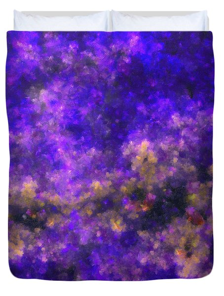 Contusion-02 Duvet Cover by RochVanh