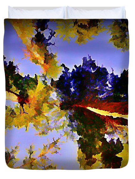 Convergent Perspective Duvet Cover by John Malone Halifax Artist