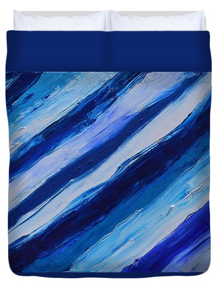 Cool Azul Duvet Cover