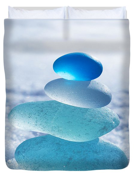 Cool Blues Duvet Cover