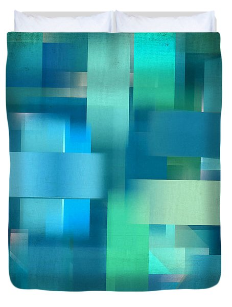Cool Breeze Duvet Cover by Lourry Legarde