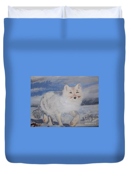 Cool Fox Duvet Cover